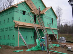 What is house wrap and why is it used for Sheathing house wrap
